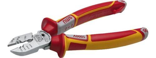 NWS 6-IN-1 Tri Side Cutter Plier Wire Screw VDE Combicutter Stripper Super