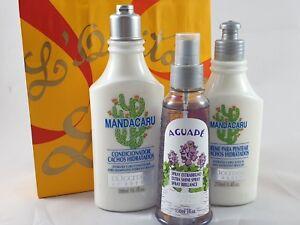 Details About LOccitane Mandacaru Ladies Pamper Hamper Haircare Conditioner Gift Birthday