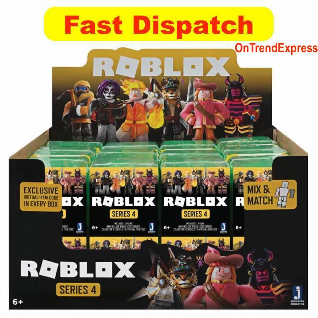 ROBLOX CELEBRITY Mystery Figures Wave 4 Assortment Factory Sealed Box Pre Order