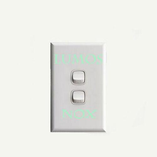 1 Pcs LUMOS /& NOX Luminous Switch Wall Sticker Funny Abracadabra Home DecorODCA