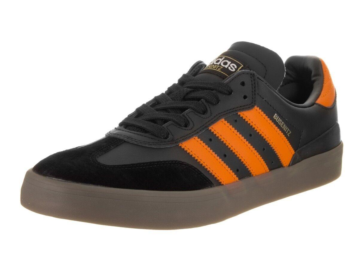 de3a479242a NEW BB8448 Adidas Busenitz Vulc Samba Sneakers Black orange Mens Size 7.5 1  2