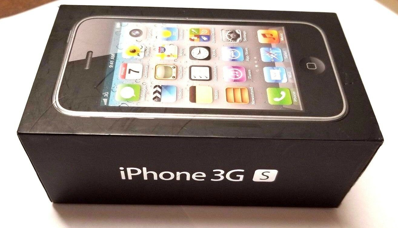Apple iPhone 3GS 16GB Empty Box No Instructions No Accessories Used