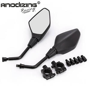 For-Polaris-Sportsman-ATV-Dirt-Bike-Rear-View-Mirrors-Side-Mirrors-Connectors