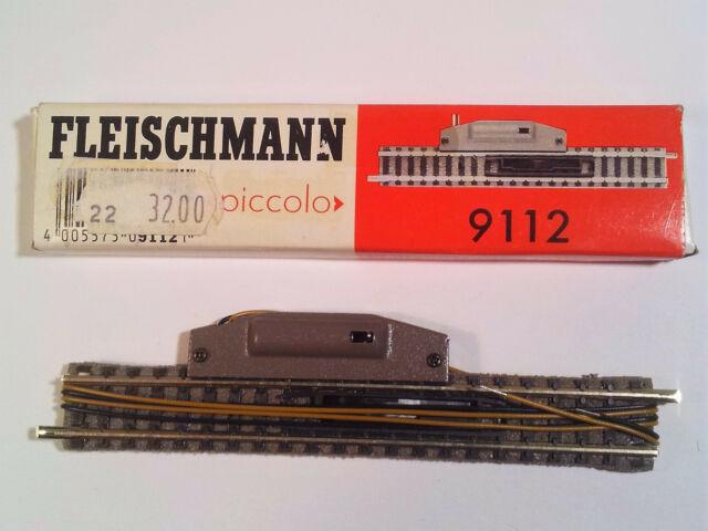 #FL 68 Fleischmann Spur N elektr. Entkupplungsgleis 9112, FABRIKNEU, OVP!
