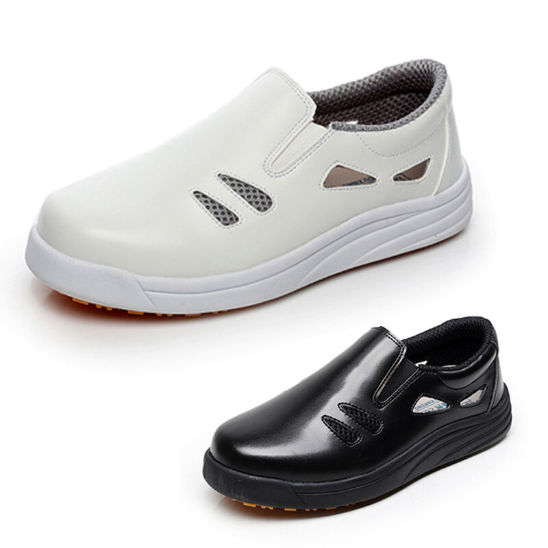 Newly Chef shoes Kitchen Oil Resistant Slip-Ons Male Hotel Cooking Working Flats