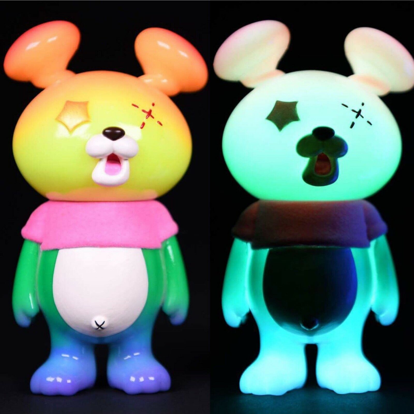 INSTINCTOY BOOO-MA 7th color RAINBOW G.I.D HIROTO OHKUBO ART TOY SOFUBI