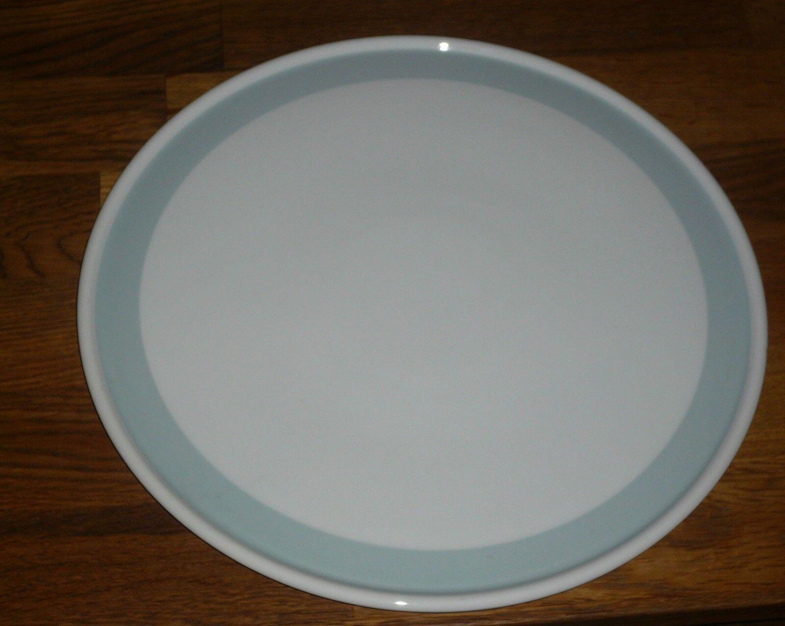 Tortenplatte 32,5 cm    Hutschenreuther  Selb Bavaria  breite Rand  hellblau | Reparieren