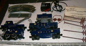 Vintage-Lionel-O-27-SANTA-FE-Steam-Locomotive-Complete-Starter-Train-Set