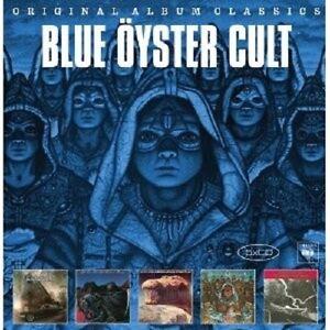 BLUE-OYSTER-CULT-ORIGINAL-ALBUM-CLASSICS-5-CD-ROCK-NEU