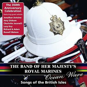 BAND-OF-HER-MAJESTY-039-S-ROYAL-MARINES-OCEAN-WAVE-CD-ALBUM-October-20th-2014