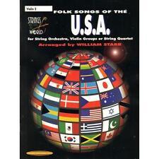 William Starr-Folk Songs of the USA - Violin 2