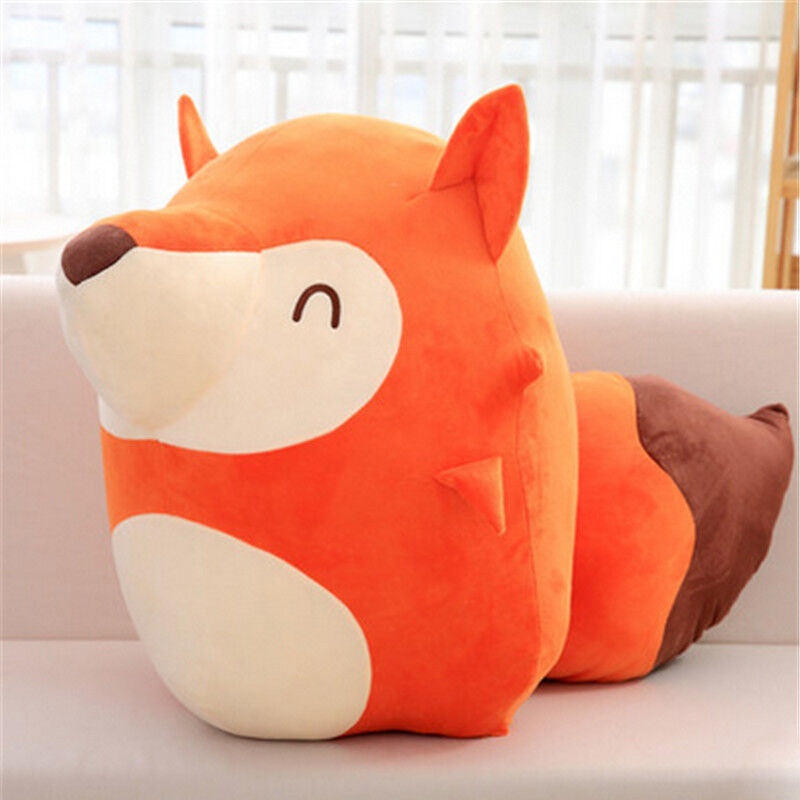 65cm Giant Big Softly Fox Plushly toys doll Stuffed Animal pillow kid Favor gift