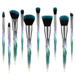 10pcs-Glitter-Crystal-Makeup-Brushes-Set-Foundation-Blush-Eyeshadow-Brush-Tool