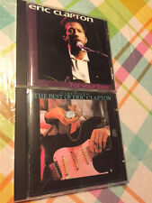 ERIC CLAPTON For Your Love Germany Import RARE CD + BONUS The Best Of Timepieces