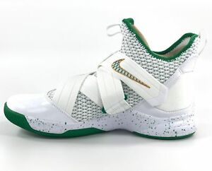 8394e30e682 Nike Lebron Soldier XII Men s Basketball shoes White Marble O2609 ...