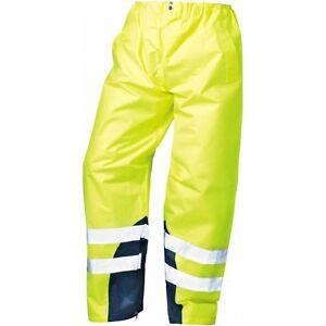 Arbeitskleidung & -schutz Unter Der Voraussetzung Warnschutz Regenbundhose Gelb *renz* Safestyle® Herausragende Eigenschaften Kleidung