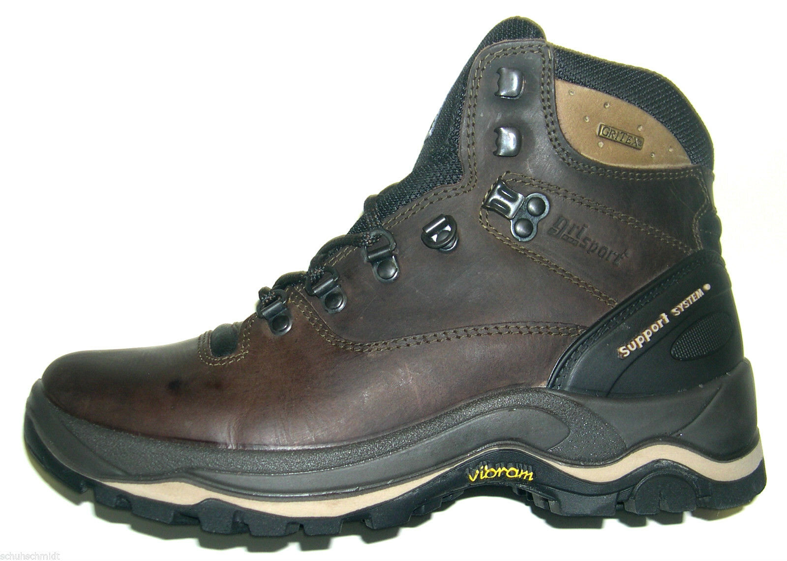 GriSport Herren Schuhe Dakar Outdoor Wanderschuh Trekking Boot Art 11205 braun