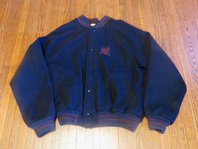 Polo Ralph Lauren Fleece Varsity Jacket Newport Navy   END.