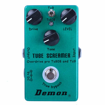 demon tube screamer ts808 ts9 overdrive distortion guitar effect pedal 6922735712635 ebay. Black Bedroom Furniture Sets. Home Design Ideas