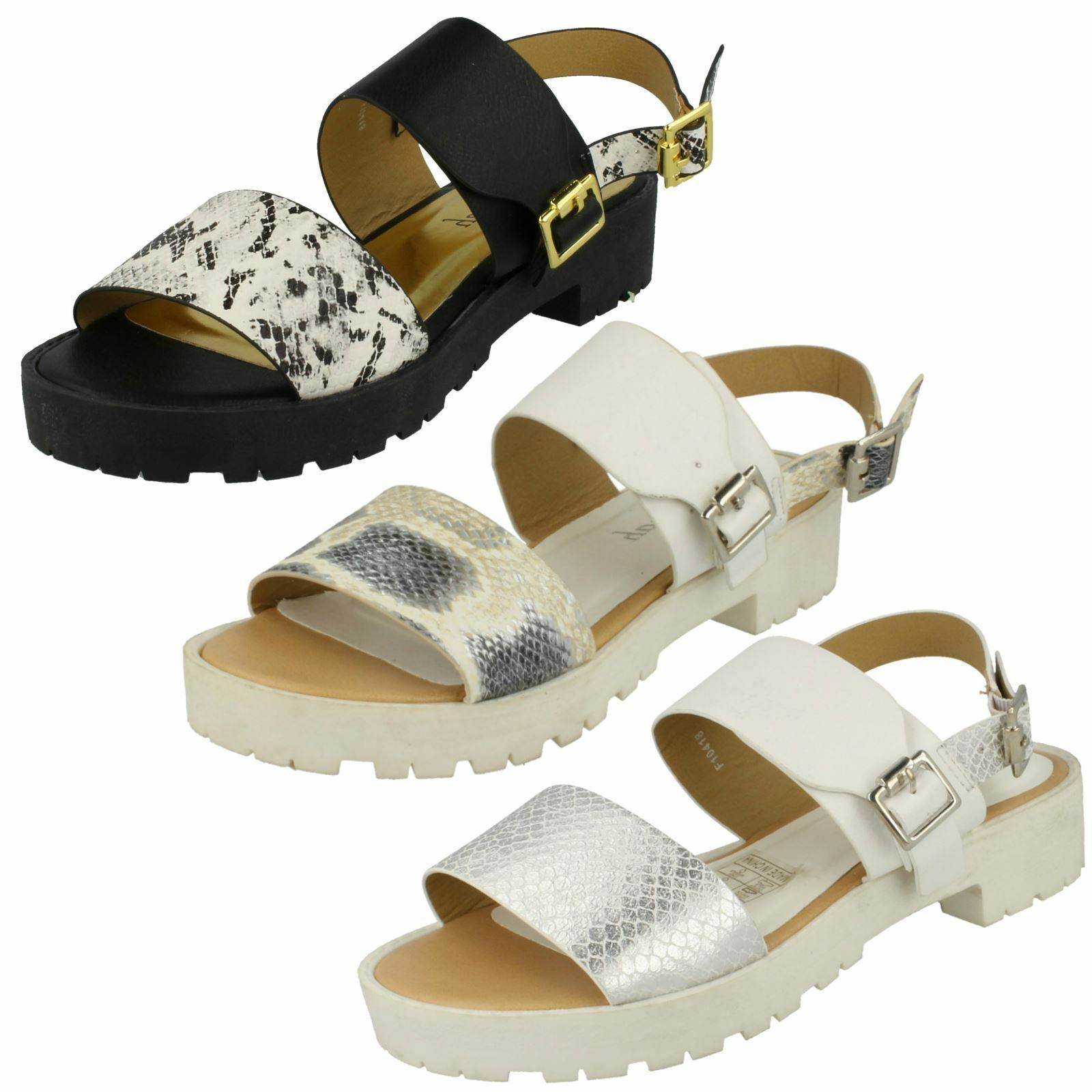 Gentleman/Lady Savannah Ladies Buckle Strap Retro Sandals Reputation economy first High quality and economy Reputation cheaper d58353