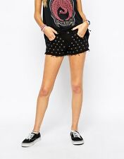 Vans Women's Studded Denim Shorts UK10/EU38/US3