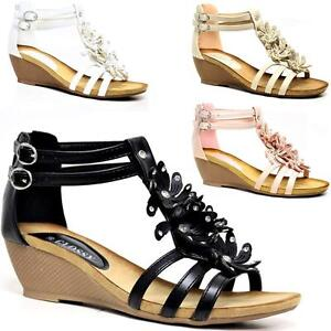 LADIES-WEDGE-SANDALS-WOMENS-HEELS-STRAPPY-SUMMER-DRESS-PARTY-EVENING-SHOES-SIZE