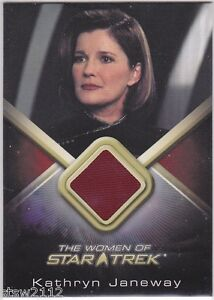 STAR-TREK-WOMEN-OF-WCC21-KATE-MULGREW-CAPT-JANEWAY-COSTUME-CARD-COURSE-OBLIVION