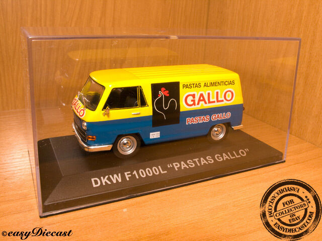 DKW F1000L F-1000-L  PASTAS GALLO  1 43 MINT