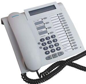 Siemens-OptiPoint-500-Advance-schnurgebundes-System-Telefon-Arctic-mit-19-MwSt