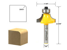 "Tideway Carbide Pro LC09070504 drawing line 5//16 bead 1//4/"" shank router bit"