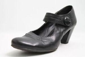 Choizz-Pumps-schwarz-Leder-Gr-41-UK-7