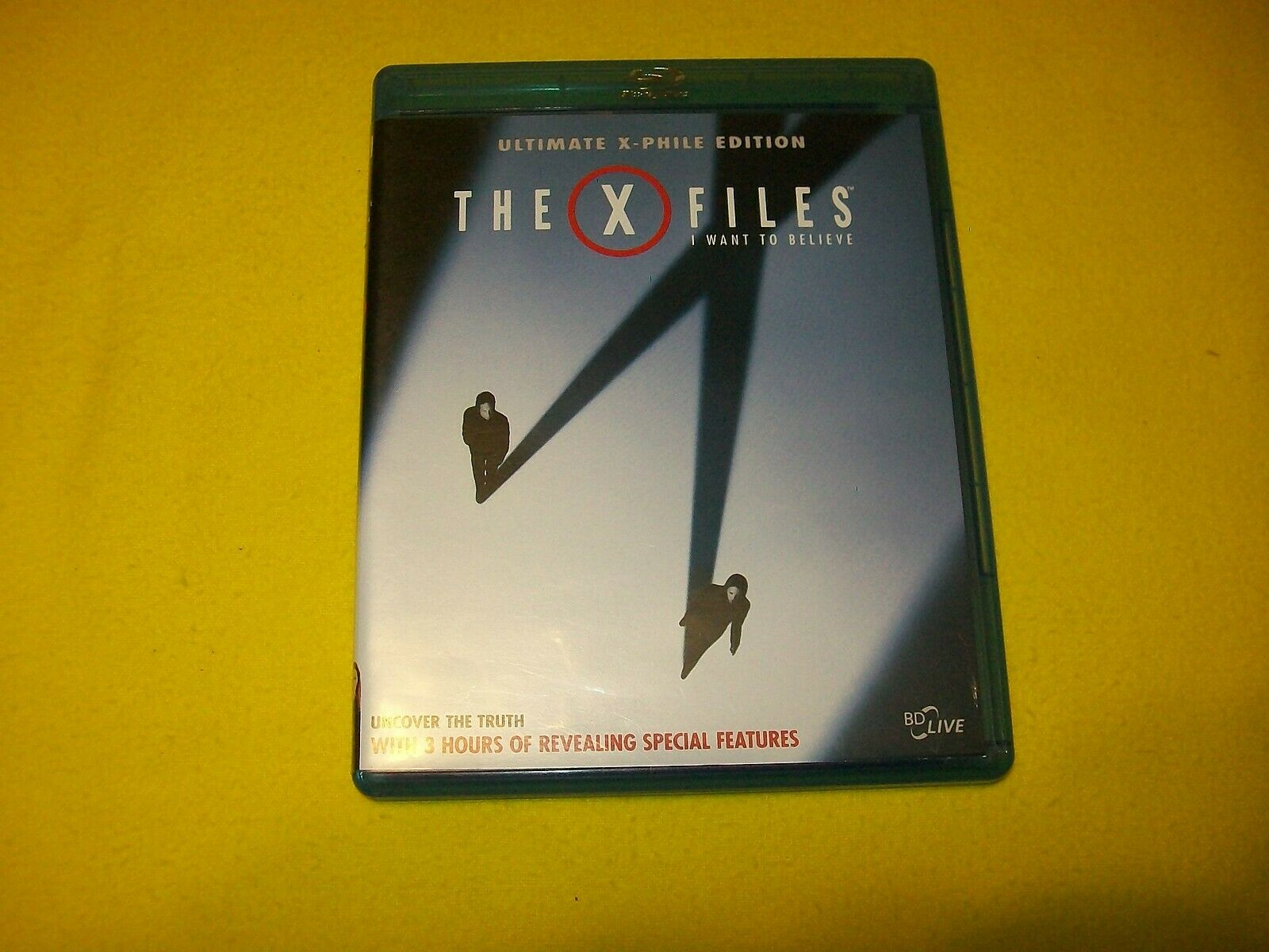 The X Files I Want To Believe Blu Ray Gillian Anderson David