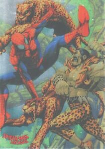 SINGLES SPIDER-MAN ARCHIVES FOIL PARALLEL