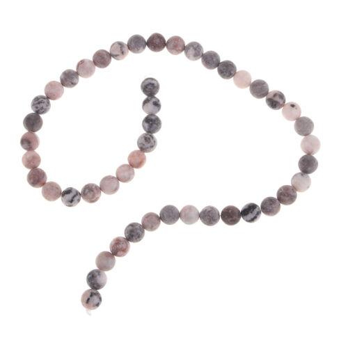 48 62x pierres précieuses en vrac rondes en pierre naturelle pour