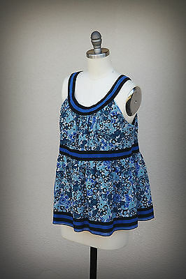ANNA SUI for ANTHROPOLOGIE Size S/M Pretty Baby Doll Top