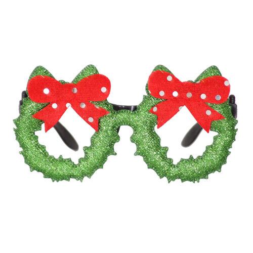 Christmas Party Glasses Santa Snowman Adult Kids Gift Favors Xmas Decor Toys