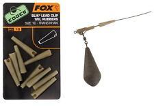 Fox Edges Silk Lead Clip Tail Rubbers Size 10 CAC480 Angelzubehör