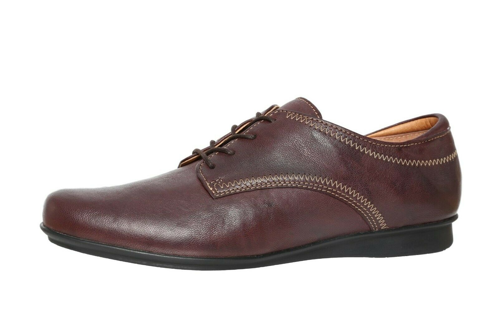 Taos Footwear Ideal Brown Leather Lace Up Oxfords Women's N5617 Size 8-8.5 M