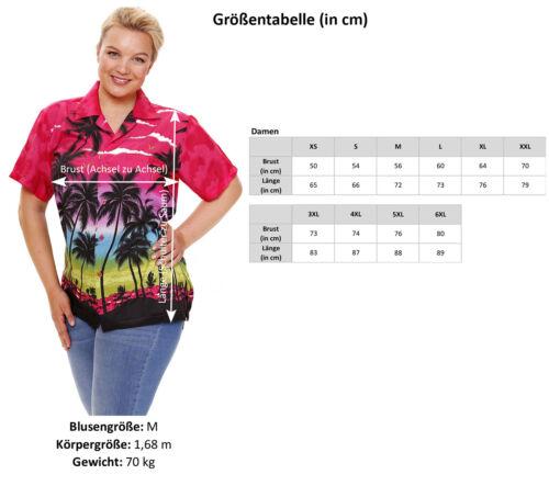 Funky Hawaiibluse Beach Türkis verschiedene Größen Hawaiian Shirt Unisex
