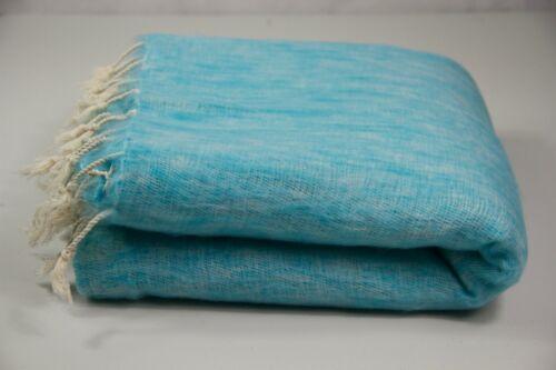 Yak Wool Blanket Large Shawl Light Weight Travel Scarf Meditation Wrap HandMade