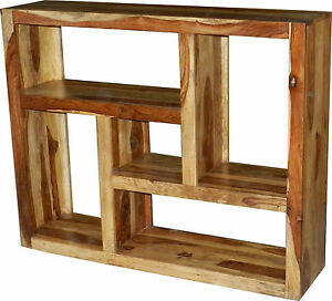 b cherregal regal kommode raumteiler schrank massivholz palisander ebay. Black Bedroom Furniture Sets. Home Design Ideas