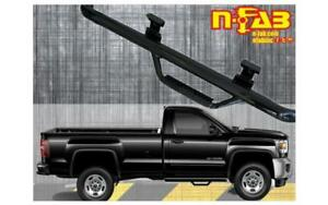 All Bed Sizes n-FAB Nerf Step fits 17-19 Chevy-GMC 2500//3500 Crew Cab Gloss Black C1775CC Cab Length