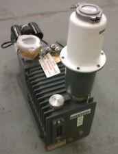 Alcatel 2033 C2 Pascal Dual Stage Rotary Vane Vacuum Pump 3 Phase