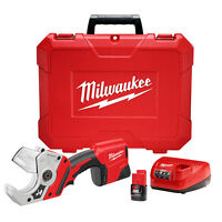 Milwaukee 2470-21 M12 12-volt Plastic Pipe Shear W/ Battery on sale