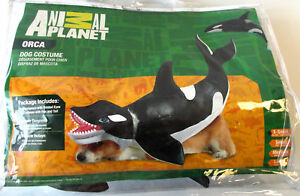 Image is loading Orca-Killer-Whale-Dog-Pet-Halloween-Costume-XS- : dog whale costume  - Germanpascual.Com