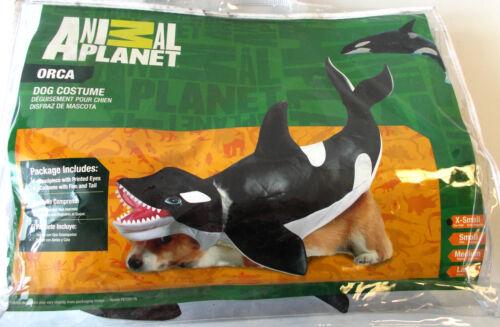 Orca Killer Whale Dog Pet Halloween Costume XS 12-16 L NIP