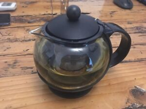 Choice-Tempered-Glass-25oz-Teapot-Kettle-Thermo-Brewer-Steeper-w-Infuser-basket