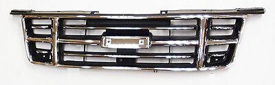 Rejilla de Radiador frontal Negro Y Cromo Para Isuzu Dmax TFS85 3.0TD 2005-7//2012