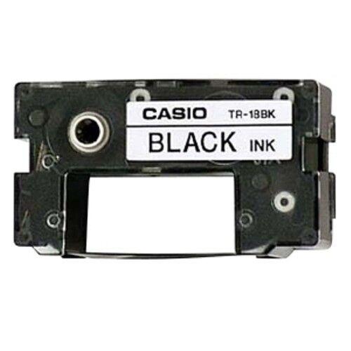 3 Casio TR-18BK Black Ink Ribbon TR18BK for CW-100 CW-50 CW-L300 CW-75