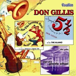 Don Gillis Symphony No.5 The Alamo Portrait Vocalion CD